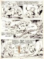 Original page 10 of RAHAN - L'arbre roi, by Guy ZAM