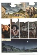 Original coloring  of page 38 from - Le Guinea lord - volume 6 of the Complainte des landes perdues series by JEREMY