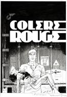 Couverture originale de LARGO WINCH Colère rouge