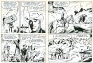 RAWHIDE KID La poursuite planches 21 et 22