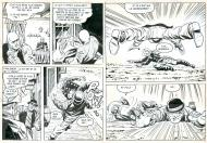 RAWHIDE KID La poursuite planches 17 et 18