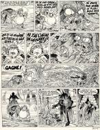 PERCEVAN Issue 12 (European publishing) original comic page 29