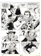Bande Dessinée : Original comic page 2 from THE PERSUADERS - Danger au paradis -