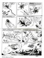 Bande Dessinée : Original comic Page 11 Issue 24 of Marsupilami Opération Attila by BATEM
