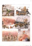 Original comic page 21 from Capitaine Trefle by HAUSMAN René