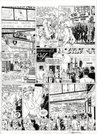 Original comic page 26 from LARGO WINCH Issue 3 O.P.A. by Philippe FRANCQ