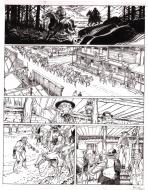Bande Dessinée : Original comic page 29 from BOUNCER issue 4