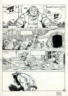 SOLO original comic page 46 issue 1 part 2