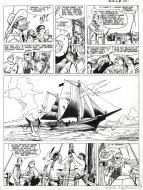 Original comic page 24 THEODORE POUSSIN Issue 4