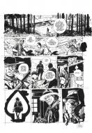 Original comic page 16 from D DAY issue 10 The Kennedy Gang by Colin WILSON