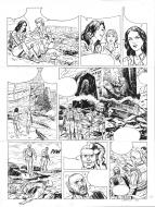 Original comic art for SIENNA 39 tome 4
