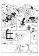 Original comic page 43 from XIII Mystery issue 3 Little Jones by HENNINOT