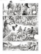 Comics illustration, Napoleon Gallery : ORVAL - SERVAIS's original comic page from ORVAL original page 76. - 76