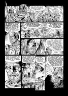 Original comic page 43 LONESOME Issue 5 Le maître des songes  Yves SWOLFS
