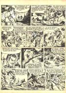 Robert LEGUAY's original comic art TEX RIPPER page 9