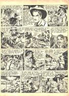 Robert LEGUAY's original comic art TEX RIPPER page 2