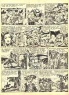 Robert LEGUAY's original comic art TEX RIPPER page 4