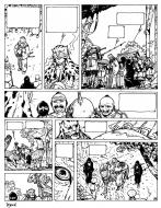 Original comic Page 10 Issue 0 from Le vent des dieux by Philippe ADAMOV