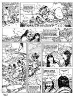 Original comic Page 19 Issue 4 from Le vent des dieux by Philippe ADAMOV