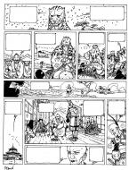 Original comic Page 2 Issue 5 from Le vent des dieux by Philippe ADAMOV