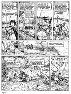 Original comic Page 8 Issue 3 from Le vent des dieux by Philippe ADAMOV